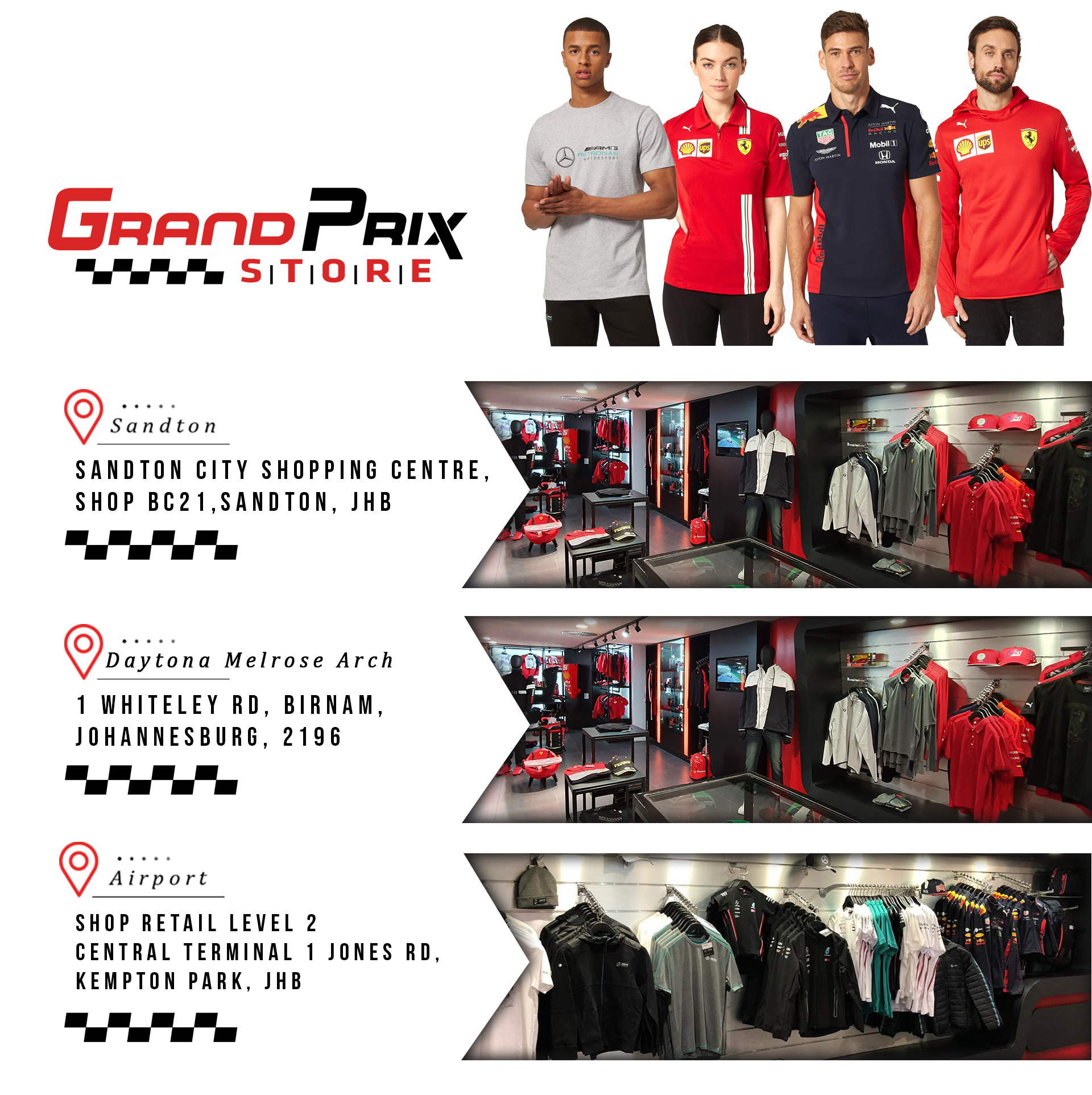 Grand Prix Store Store Loacations
